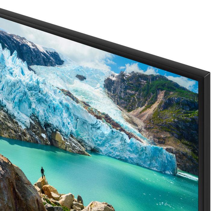 Samsung UN50RU7100 corner view