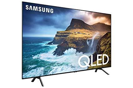 Samsung QN82Q70RAFXZA left view