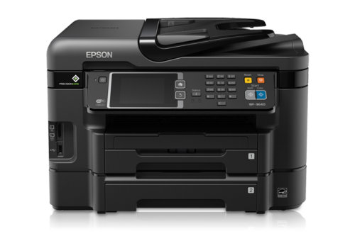 EPSON wf3640 front basic view