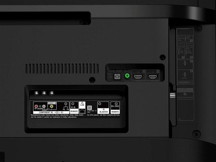 Sony KD43X750F input view
