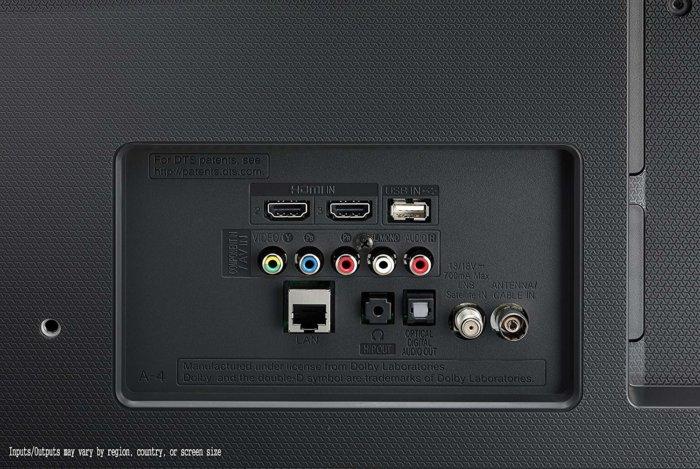 LG 43LH5700 port