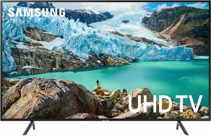 Samsung UN55RU7100 front view