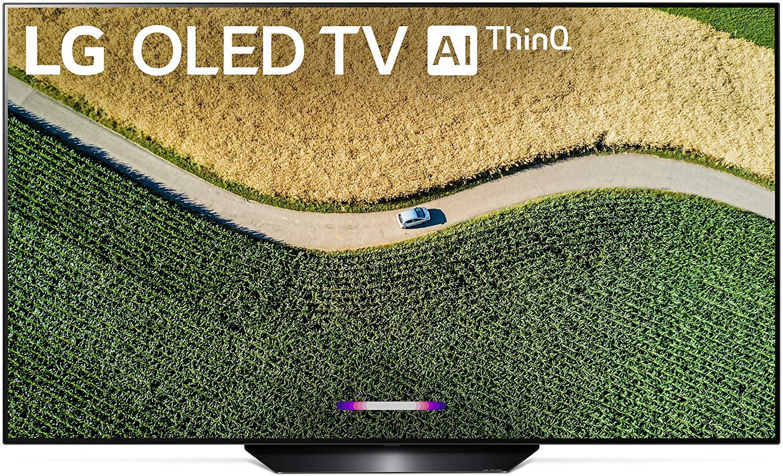 LG OLED65B9PUA front view