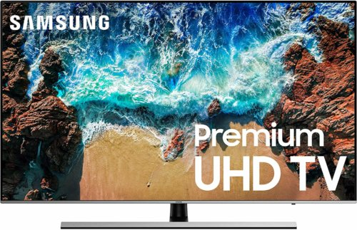 Samsung UN55NU800DF front view