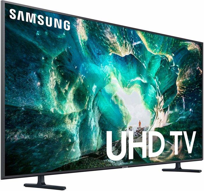 Samsung UN65RU8000 angle view