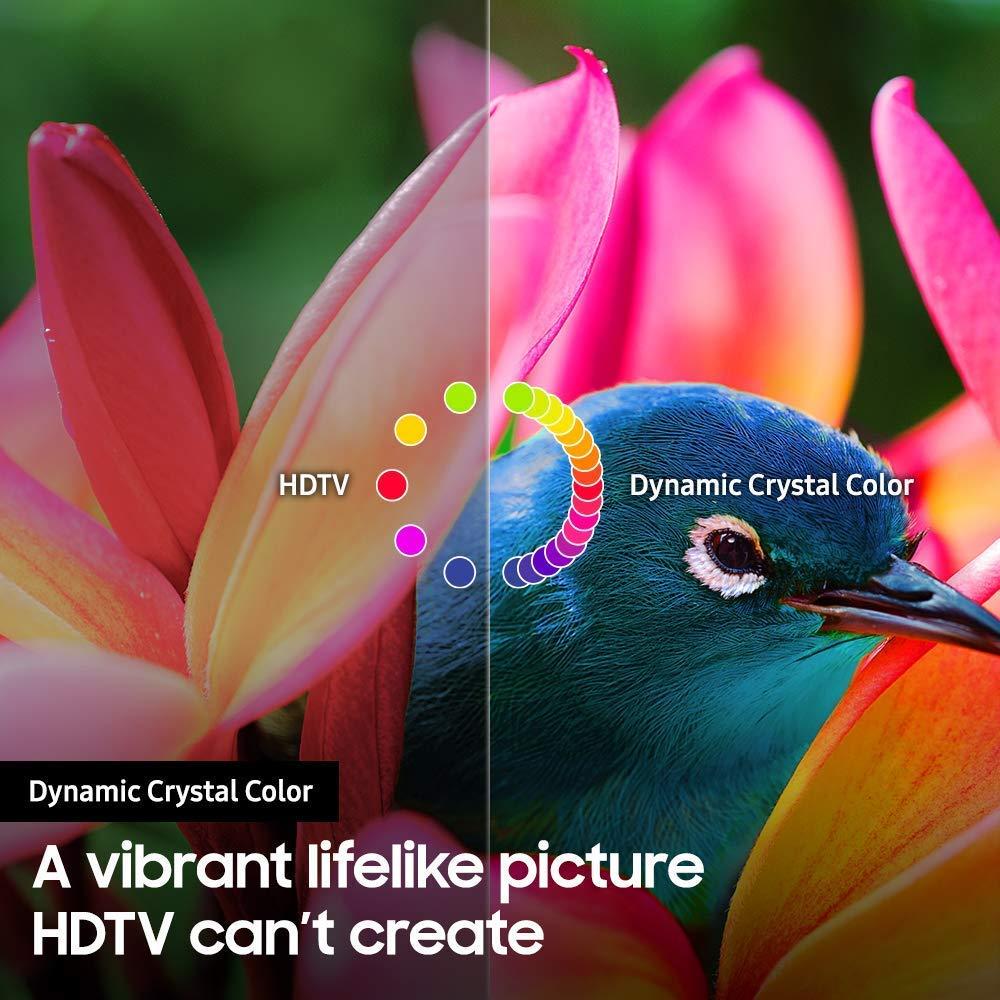 Samsung UN65RU8000 dynamic crystal color