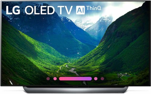 Samsung OLED65C8P front view shopping