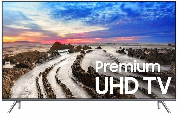 Samsung UN55MU8000 front view