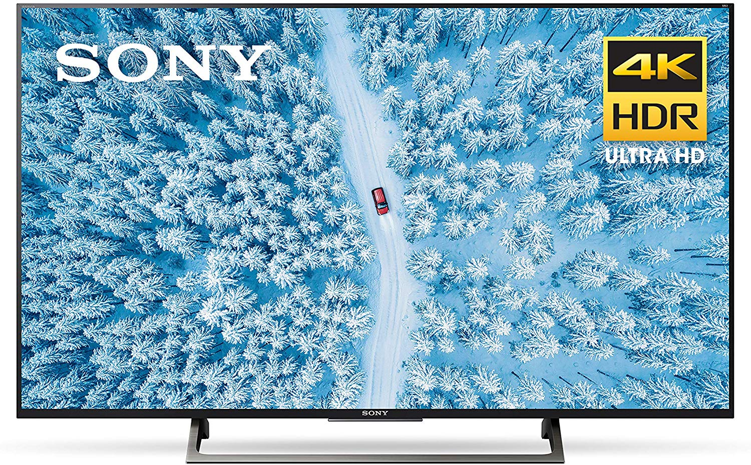Sony XBR55X800E front view