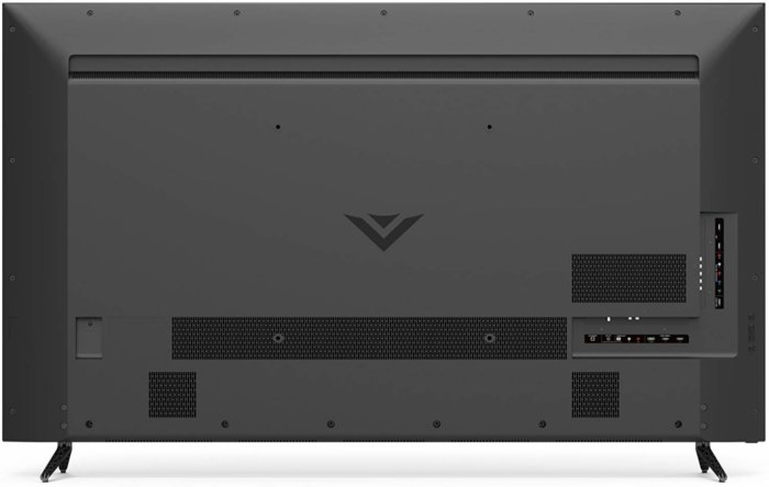Vizio D65-E0 back view cheap