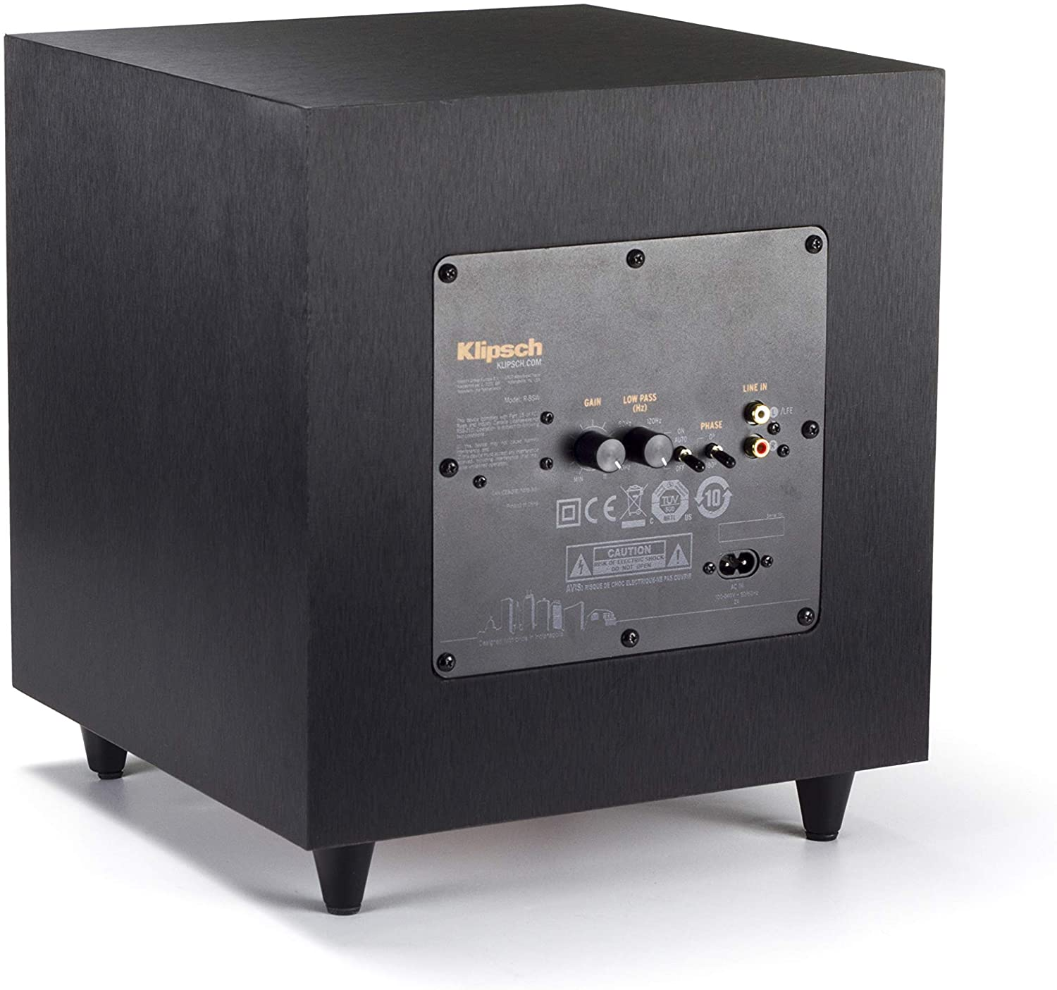 Klipsch Reference Subwoofer back