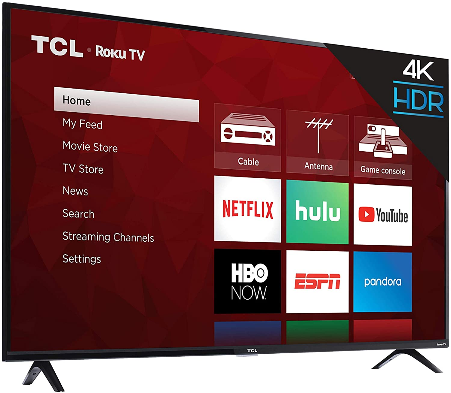TCL 55S425 angle view top deal trading